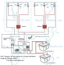 wiring diagram for inverter info how to instill ups amp inverter wiring in 2 rooms wiring diagram