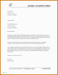 Compliant Letter Format Complaint Letter In Email Format Professional Letter Format