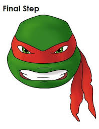 Small Picture How to Draw Raphael TMNT