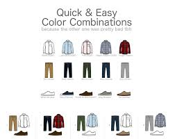 For Guys A Quick Easy Color Combination Guide For Mens