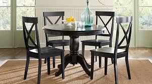 blue dining room set. Brynwood Black 5 Pc Round Dining Set Blue Room