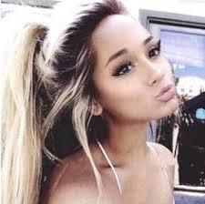 ariana grande shes too beautiful lt 3 blonde hair with dark eyebrows