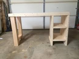 Rustic Desk Designs Homemade Desk Ideas Nanas Workshop Diy Furniture Easy