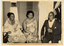 """Image Collections Online - """"Liberian Consul General to England Myrtle Reeves  Gorgla with guests at a Liberian Embassy reception in London, England"""""""