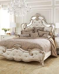 mirrored furniture room ideas. hadleigh bedroom furniture by hooker at horchow mirrored room ideas