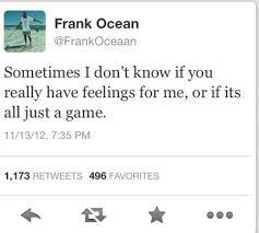 Frank Ocean Quotes Tumblr