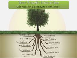 Tree Powerpoint Template Tree Root Growth A Powerpoint Template From Presentermedia Com