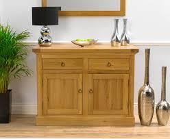napoli 115cm solid oak sideboard camberley oak 2 door