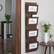 office organization diy. clear your clutter with this simple diy mail sorting station free plans to make office organization diy