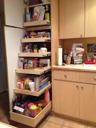 Tall Cabinet With Drawers Tall Corner Kitchen Cabinet Outofhome