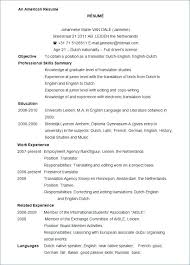 Writer Resume Template Magnificent Writer Resume Examples Word Resume Template Free Samples Examples