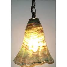 green glass pendant lighting. Crystal Postighone Green Glass Pendant Light, Artistic, Hand Blown Pendants Lighting