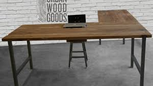 stylish office desk. Stylish Rustic L Shaped Desk Within Reclaimed Wood Office Furniture Modern Custom T