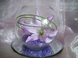 Glass Fish Bowls For Table Decorations HIRE of Large Glass Fish Bowl Vase Centrepiece Wedding Flowers 2