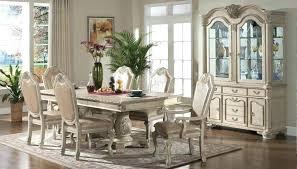 antique white dining room set. Antique White Furniture Dining Room Table Formal Sets Off Set R