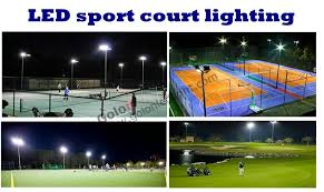 outdoor led sport court lighting 150w 200w led outdoor tennis court lighting 100 277v led sport light for badminton basketball court led flood light