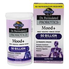 garden of life dr formulated probiotics mood shelf stable 60 vegetarian capsules