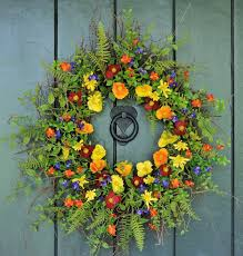 spring wreath for front doorJoyful Handmade Spring Wreath Ideas To Decorate Your Front Door