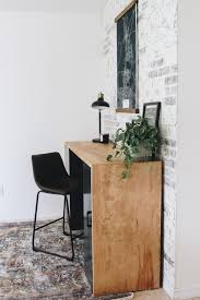 Build this table from one sheet of plywood. Diy Plywood Desk Within The Grove