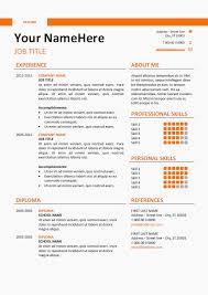 Job Resume Example Elegant Resume 52 New Cv Templates Full Hd