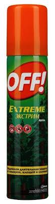 Аэрозоль <b>OFF</b>! Extreme от <b>комаров</b> и клещей — купить по ...