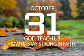 God's word® translation be alert. Staying Strong In Faith Prayer For October 31
