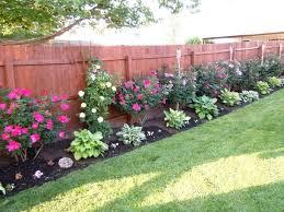 Image result for landscaping along fence