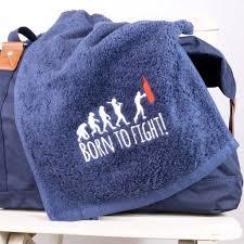 boxing gym towel