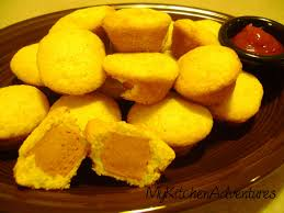 jiffy cornbread muffins. Delighful Cornbread I Used Oscar Mayer Turkey Hot Dogs And Jiffy Corn Muffin Mix So That Is  What The Nutrition Information Based On Throughout Cornbread Muffins Y