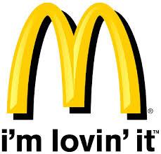 x mcdonald s logo and tagline akzidenz grotesk helvetica mcd im lovin it jpg