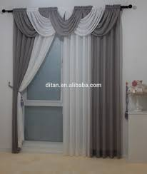 2016 classic european style voile sheer curtain valance swag
