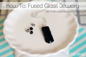 supplies needed to make your own fuseworks fused glass jewelry