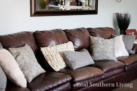 Pillows For Leather Couch Throw Pillows Leather S On Leather Sofa And  Loveseat Set Faux W