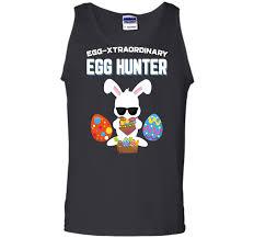 Egg Xtraordinary Egg Hunter Easter Tshirt Boys Girls Bunny2
