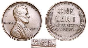 1909 Lincoln Wheat Penny Vdb Coin Value Prices Photos Info