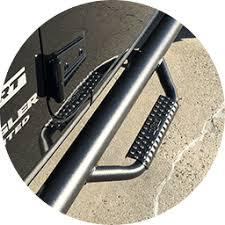 N-Fab Side Steps for Trucks - Pickup Truck Side Steps - Truck Side Bar