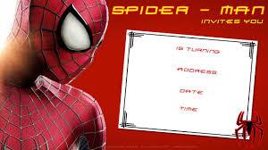 Spiderman Birthday Invitation Templates Free Free Printable Blank Spiderman Birthday Invitation