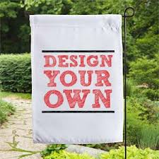 design your own garden flag