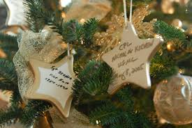u s department of defense photo essay ceramic gold star or nts on a gold star christmas tree serve as reminders of families of