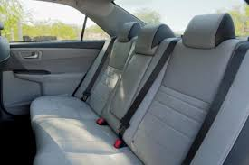 toyota camry 2015 interior. 2015 toyota camry review interior rear seats