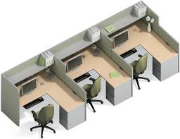 office cubicles design. 5×5 Cubicle And Workstation Options For Businesses Nationwide From Refurbished Office Furniture Cubicles Design