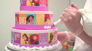 How To Make A Disney Princess Dream Big Princess Cake Youtube