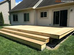 how to build a floating deck decking and free cost diy of cards costume