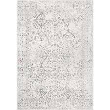 vintage odell ivory 8 ft x 10 ft area rug