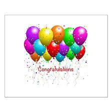 Congratulations Poster Congratulations Balloons Posters