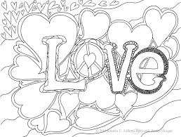 Love Printable Coloring Pages For Adults