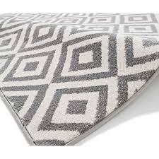 matrix mt89 grey white rug by think rugs