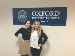 job shadowing wildcat career news davidson college katie bennett 16 right molly hansen her job shadowing host at