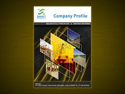 company profile cover page template use this grid themed company profile cover page by fahd4007 on