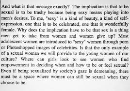 blurred lines model and actress emily ratajkowski writes a you would know that she is very much a sex positive feminist her and emily have collaborated on feminist projects including this essay